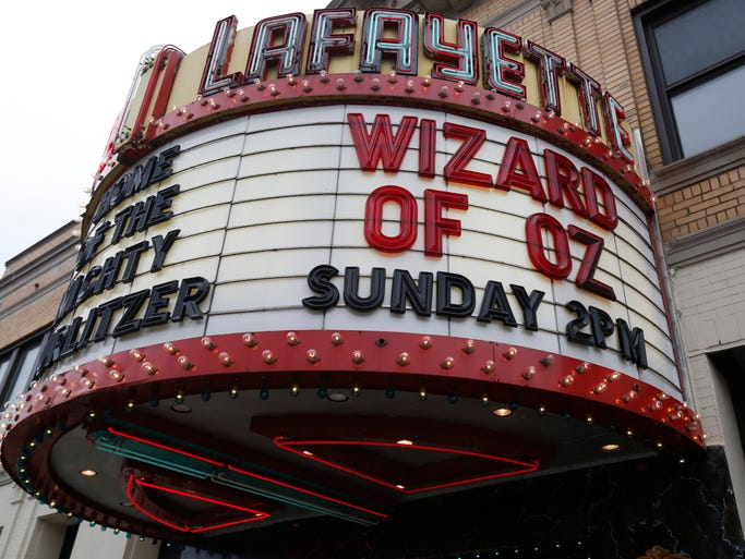 The Lafayette Theater in Suffern celebrated its 90th birthday with a screening of The Wizard of Oz and an appearance by Abbott and Costello on  March 2, 2014.