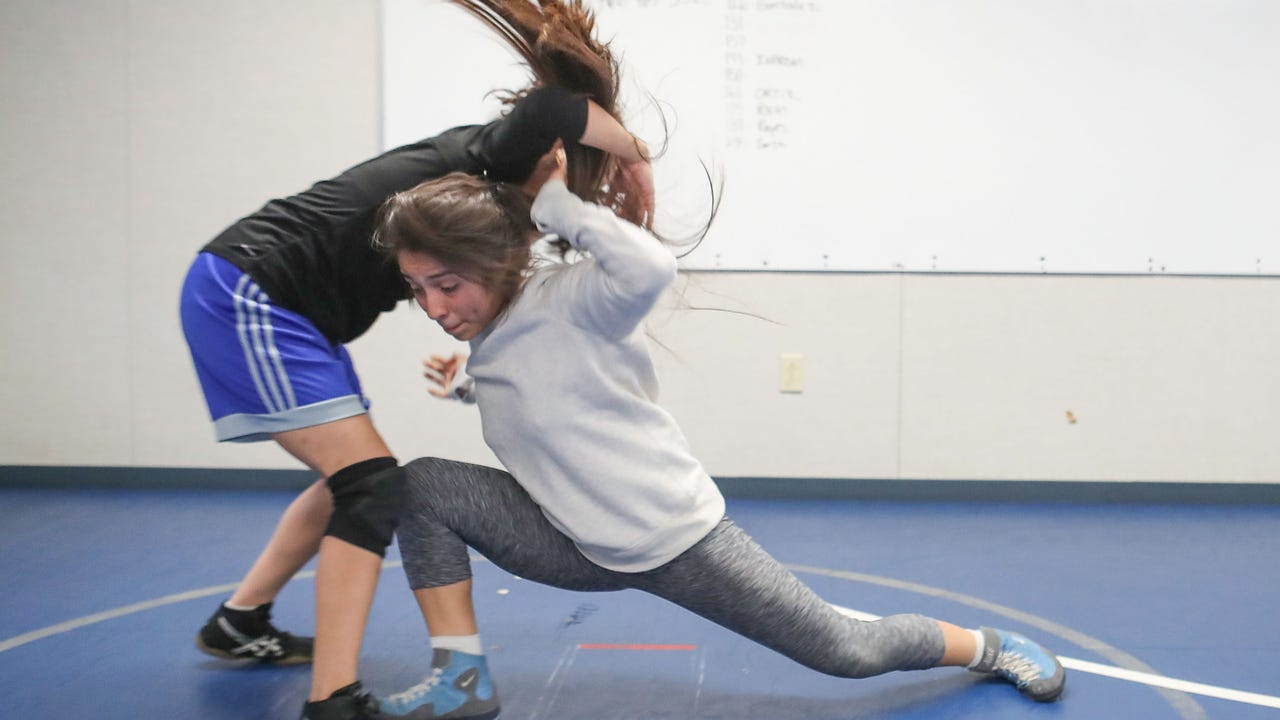 The Cathedral City High School girls' wrestling team is for real. We talked with a couple of their wrestlers.