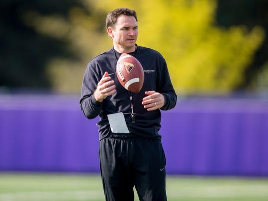 2014 University of Washington football coaches