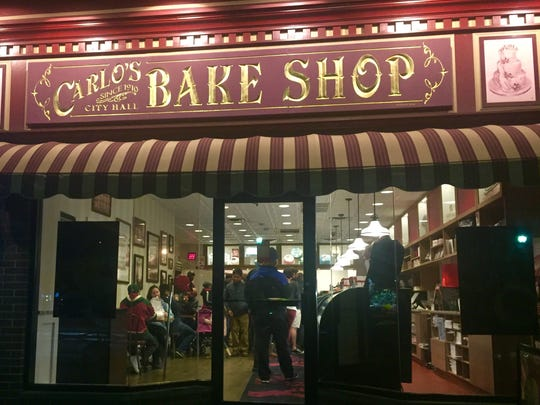 "Carlo's Bakery is known for the TV show ""Cake Boss."""
