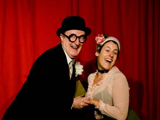 "Tim Gleason and Annie Fabiano star in ""The Nance."""