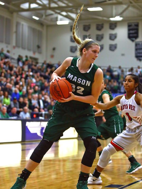 Mason vs Lakota West Girls Basketball Regional Final