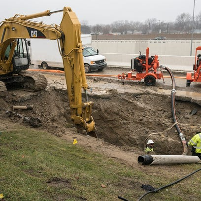 The Great Lakes Water Authority repairs the broken
