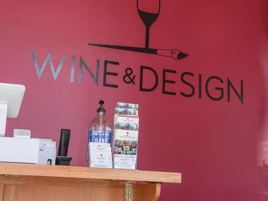 Wine and Design business at 4232B Clemson Blvd in Anderson.
