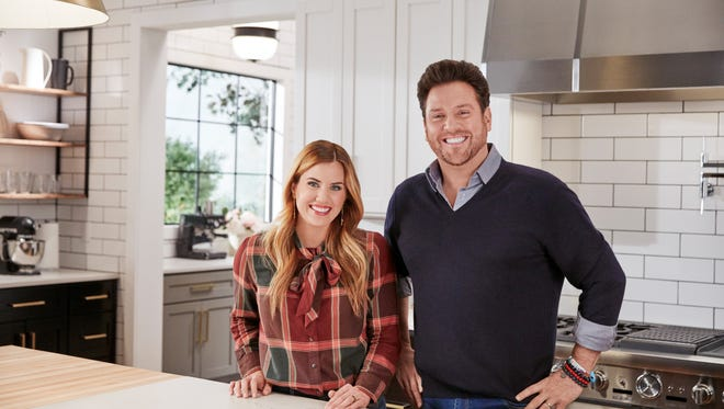 Designer Shea McGee and chef Scott Conant helped design the ideal kitchen for the Food Network Fantasy Kitchen Giveaway.