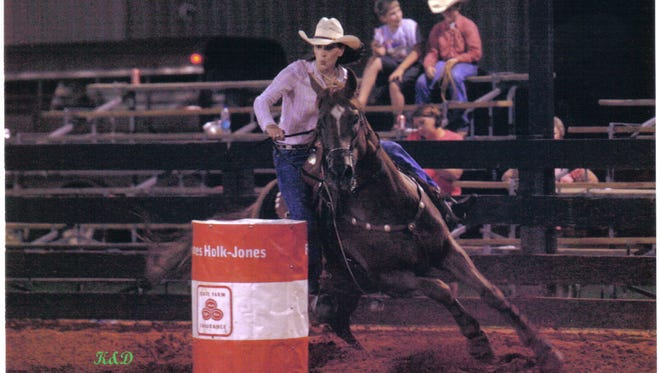 The annual Professional Rodeo is the primary fundraiser for the Jennifer Claire Moore Foundation.
