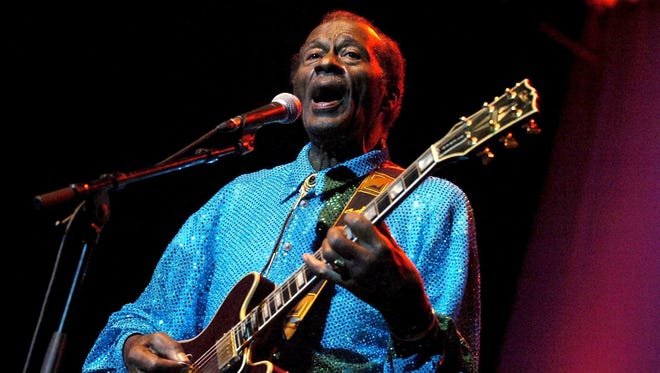 Chuck Berry was an innovator with much-copied guitar riffs. Rock legend Chuck Berry died at age 90.