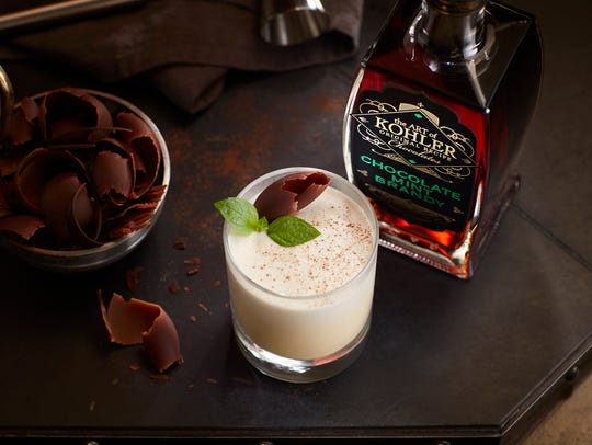 The new Kohler Chocolate Mint Brandy arrived just in