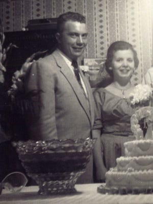 Mr. and Mrs. Billy Barron -- 1954