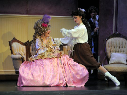 TCOE's production of Phantom of the Opera at the LJ Williams.