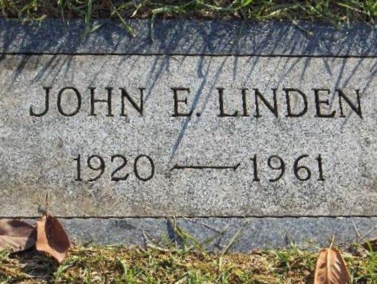 Reino Hayhanen, aka John E. Linden, is buried in Greenmount