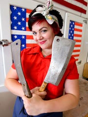 "The Butcher Babe, aka chef Loreal Gavin, who made a name for herself as a contestant on the television show ""Food Network Star,"" is a guest chef  March 6 at Taste Cafe."