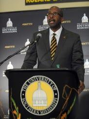 University of Southern Mississippi president Rodney