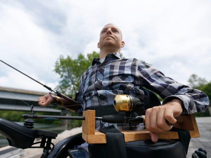 Mark Grantham, a quadriplegic who broke his neck 9