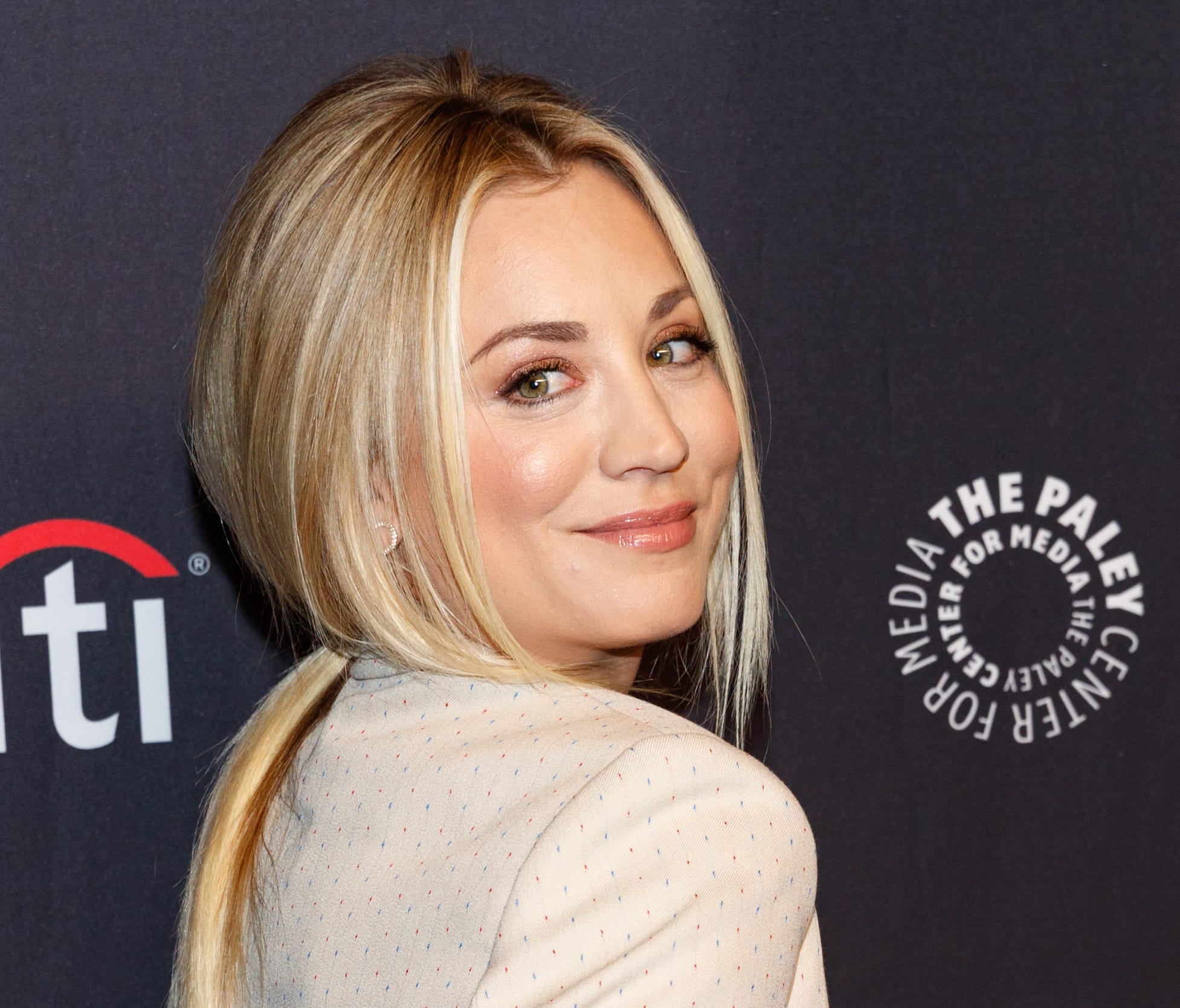 Kaley Cuoco attends the 2018 PaleyFest Los Angeles event for 'The Big Bang Theory' And 'Young Sheldon' on March 21, 2018 in Hollywood, Calif.