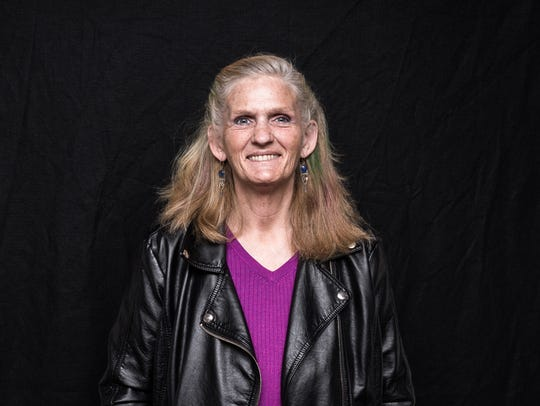 Kileen Walp, a veteran of the Air Force who served