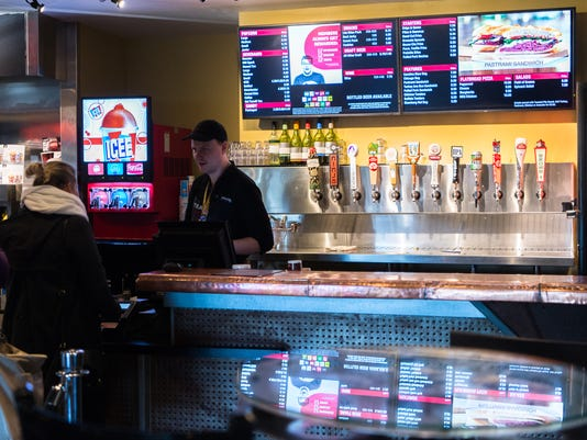 Dining Review The Carolina Cinemark Asheville