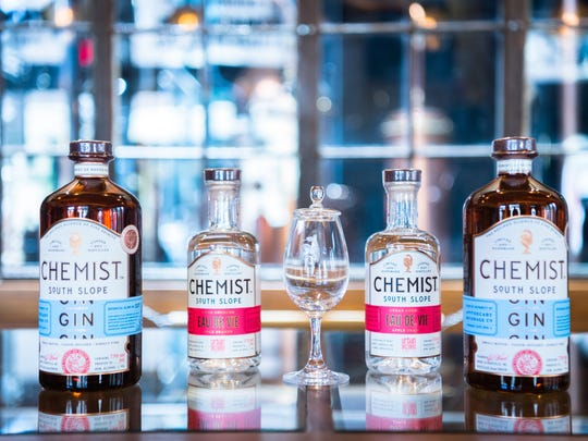 The Chemist's ginbrings to the forefront notes of