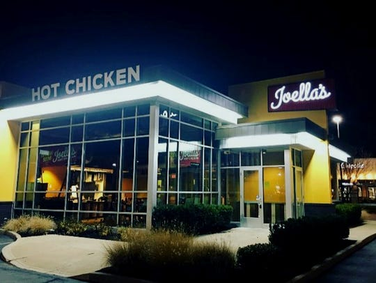 Joella's Hot Chicken opened Jan. 26, 2017, at 4715