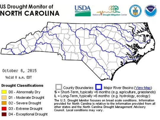 No counties under a drought advisory.