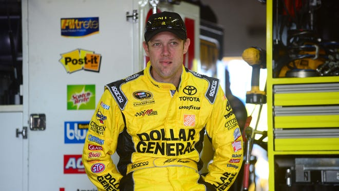 Matt Kenseth was the Sprint Cup Series runner-up in 2013 and won the championship in 2003.