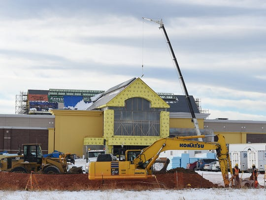 Construction continues on Scheel's in Johnstown on