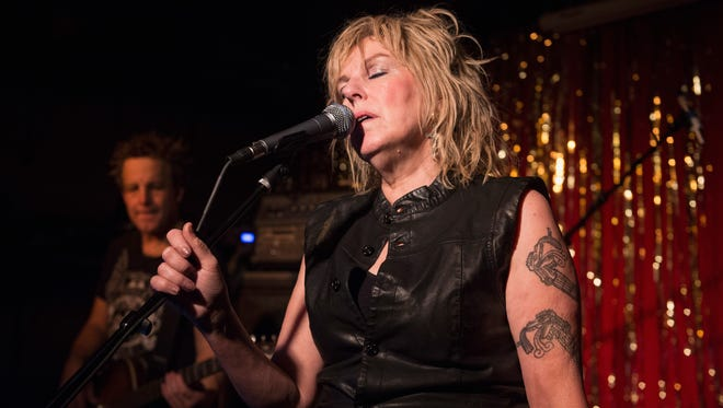 Lucinda Williams performs at the Stone Fox on September 17, 2015 in Nashville, Tennessee.