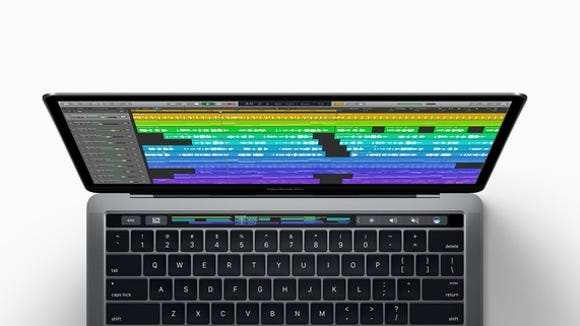 Apple's MacBook Pro with a Touch Bar.
