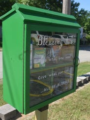 Wesley United Methodist Church has installed a blessing