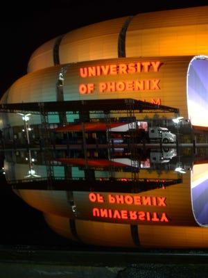 University of Phoenix Stadium in Glendale.