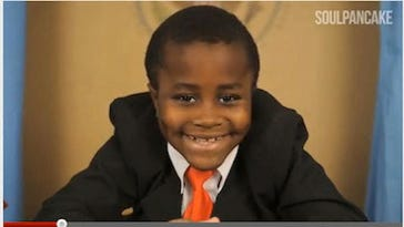 Memorable moments from the Kid President