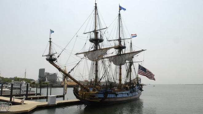 The Kalmar Nyckel, the official tall ship of Delaware, is returning to Cape Charles in June for the Tall Ships festival.