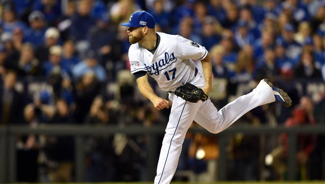 Wade Davis was part of the Royals' version of the Nasty Boys.