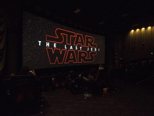 Star Wars: The Last Jedi opening night in Phoenix