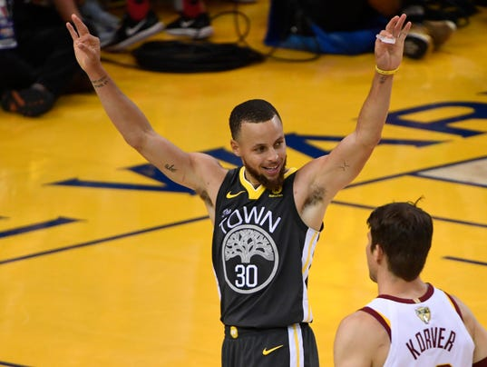 Cleveland Cavaliers at Golden State Warriors Game 2 NBA Finals Oracle Arena