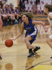 FILE – Bishop Chatard's Frankie Kontor, played three