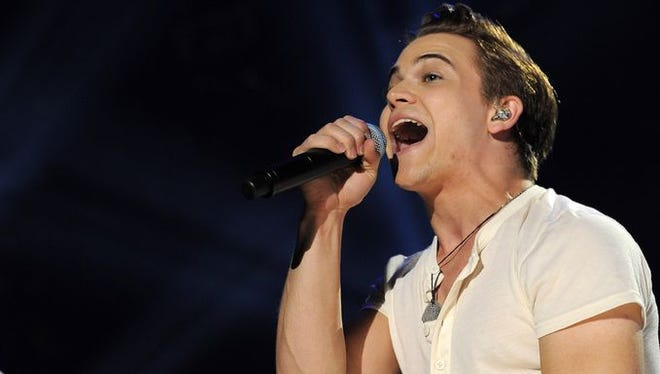 Hunter Hayes performs at the CMA Music Festival at LP Field on Sunday, June 8, 2014.