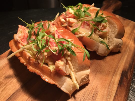 Caribbean lobster rolls are a Hot Dish from Fathoms