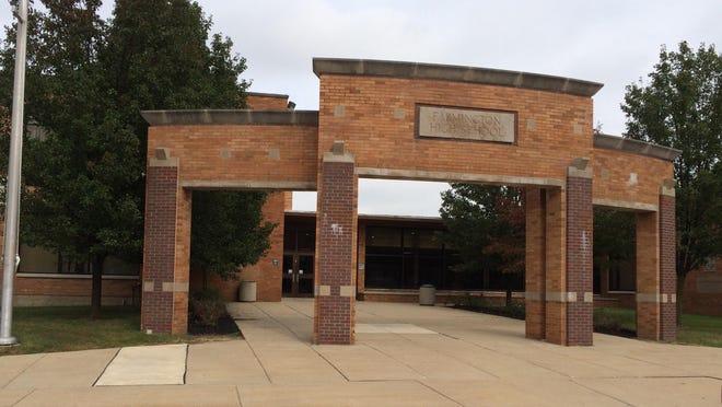 Farmington High School was on lockdown Friday, June 8.