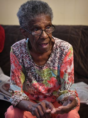 Community leader and historian Arthur Bea Williams talks about the African American perspective of black history and the Civil War as shown in this Aug. 23, 2018, file photo.