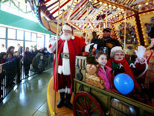 There will be a Holiday Pajama Party at Salem's Riverfront Carousel on Friday, Dec. 21.