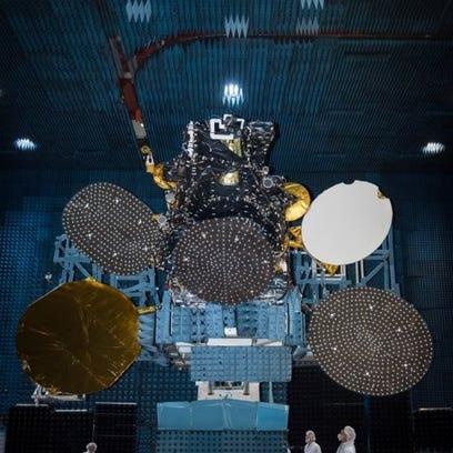 The Hispasat 30W-6 communications satellite, built