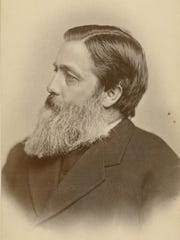 Willard Fiske, the first librarian at Cornell University, pictured in 1880.