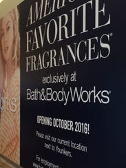Bath & Body Works renovates its store behind construction