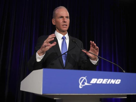 """""""As in most accidents, there are a chain of events that occurred,"""" Chief Executive Officer Dennis Muilenburg  said, referring to the Lion Air crash on Oct. 29 and the March 10 crash of an Ethiopian Airlines Max. """"It's not correct to attribute that to any single item."""""""
