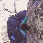 No ropes: Climber attempts one of USA's toughest boulders