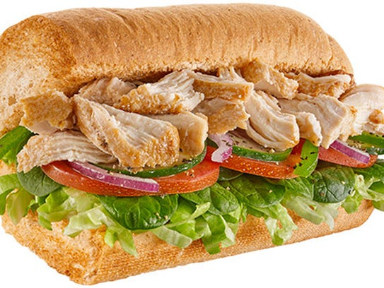 The rotisserie chicken sandwich from Subway.