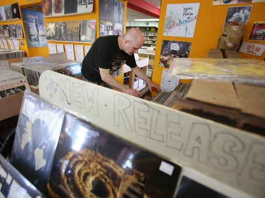 Vinyl fans get unique finds, concerts on Black Friday