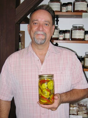 Gene Ware with his Bread & Butter Summer Squash Fridge Pickles