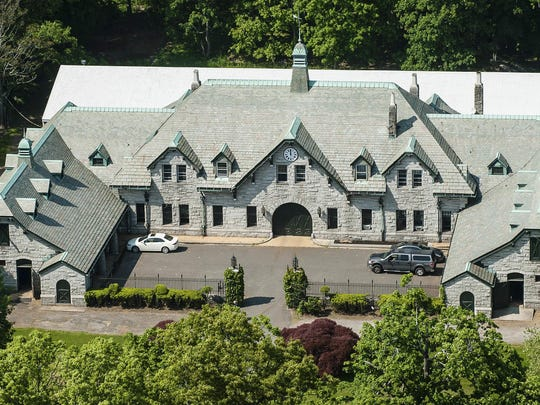 The main house in the $175 million estate is unoccupied. Since about 1900, the property has belonged to the family and descendants of William Ziegler, an industrialist who made his fortune in baking powder.